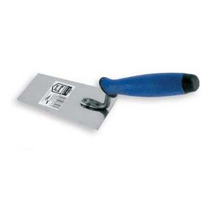 Stainless bucket trowel 120mm rubber handle