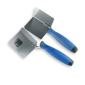 Corner trowel outside 120*75 rubber handle