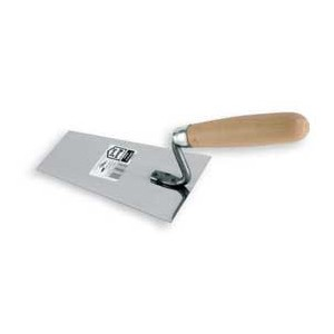 Stainless bucket trowel 130mm
