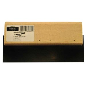 Grout spreader, wood squeegee 150mm