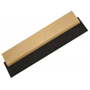 Grout spreader, wood squeegee 200mm