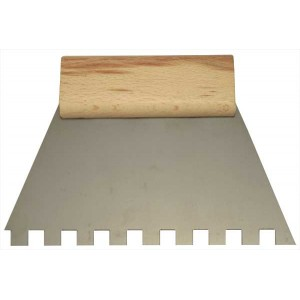 Adhesive spreader 180 noched 10x10
